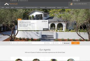 The Avenue Central Coast Realty Website