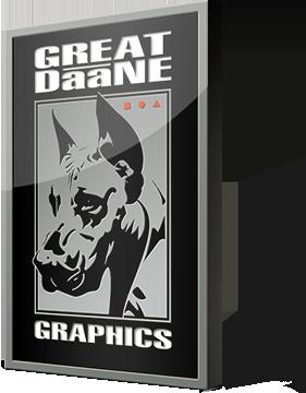 Great Daane Graphics logo